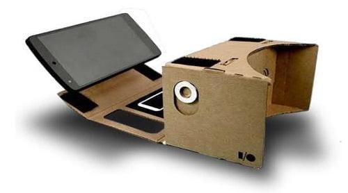 VR Google Cardboard History