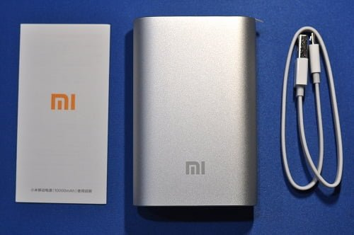 Xiaomi Mi 10,000mAh Power Bank Review, box contents