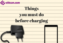 Things to do before charging brand new Phone