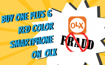 Buy One Plus 6 Red Color smartphone on OLX